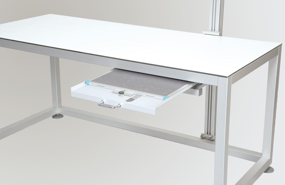 Veterinary X-ray table